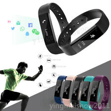 New Smart Wristband Watch ID115 Bluetooth 4.0 Fitness Tracker For iPhone Samsung