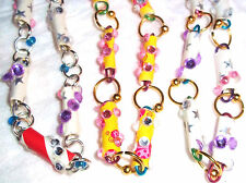 Paper Mache  Upcycled  Necklaces 3 STYLES TO CHOOSE  Art Bling Jewelry Papier .