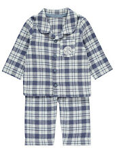 George Official Disney Baby Winnie The Pooh Checked Woven Pyjamas Set
