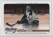 2011-12 Upper Deck Hockey Heroes 1950s HH1 Johnny Bower Toronto Maple Leafs Card