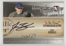 2011 In the Game Heroes and Prospects #L-JB Jesse Biddle Auto Baseball Card