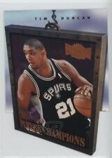 1997-98 Metal Universe Championship Preview Future Champions 1FC Tim Duncan Card