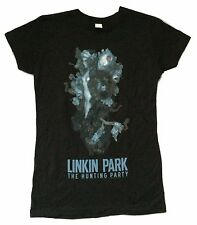 Linkin Park The Hunting Party Girls Juniors Black T Shirt New Official Soft