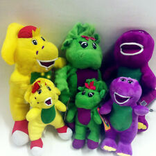 "3 Types Singing Barney & Friends Plush Doll Figures Baby Bop BJ 12"" Gift"