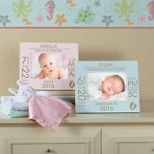Personalized The Day You Were Born Baby Frame, Pink