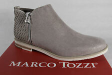 Marco Tozzi Ankle Boots, Boots, Boots, Pull on Boots, grey, NEW