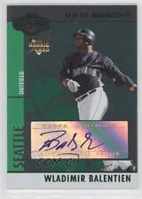 2008 Topps Co-Signers Silver Green #109 Wladimir Balentien Seattle Mariners Card