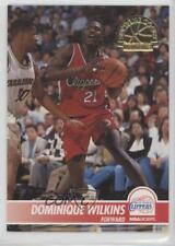 1994-95 NBA Hoops Supreme Court SC21 Dominique Wilkins Los Angeles Clippers Card