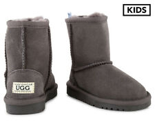 OZWEAR Connection Kids' Water Resistant Ugg Boots - Charcoal