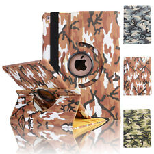 For Apple iPad Air 1st Gen / Air 2 360 Swivel Stand Smart Leather Case Cover
