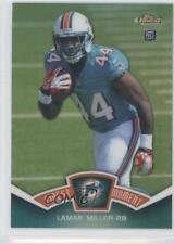 2012 Topps Finest Moments Refractor #FM-LM Lamar Miller Miami Dolphins Card
