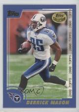 2000 Topps Collection #89 Derrick Mason Tennessee Titans Football Card