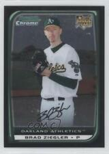 2008 Bowman Draft Picks & Prospects Chrome #BDP41 Brad Ziegler Oakland Athletics