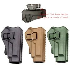 Right Hand MOLLE Paddle Pistol Holster fit for M9 M92 Tactical Vest Gun Holster