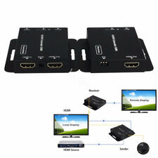 1080P HDMI Network Extender Over Single Cable with IR CAT5E/6 Ethernet Cable 50M
