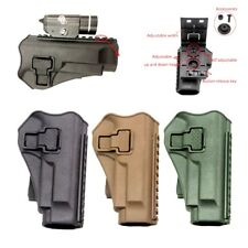 Tactical Military Right Hand Paddle Waist Belt Gun Pistol Holster fit for M9 M92
