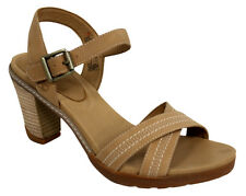 Timberland Earthkeepers Stratham Heights Heeled Strap Up Womens Shoes 28674 U67