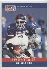 1990 Pro Set #231 Lawrence Taylor New York Giants Football Card