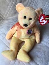 Ty Beanie Baby, Sunny, Retired, Date of Birth 2/13/2000