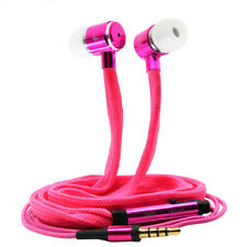 Shoelaces Ear Hook Stereo Metal Bass Earphone Headset Music Earpieces with Mic