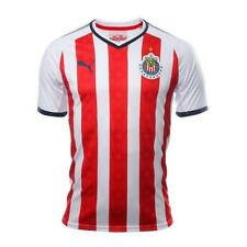 Puma Chivas 2017/18 Youth Home Jersey Short Sleeve Red/White 1708