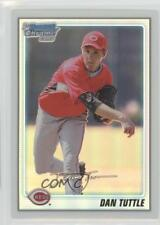 2010 Bowman Chrome Prospects Refractor #BCP193 Dan Tuttle Cincinnati Reds Card