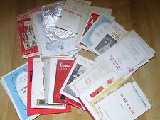 Large and Interesting Selection of 1950's Theatre Programmes