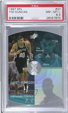 1997-98 SPx #37 Tim Duncan PSA 8.5 San Antonio Spurs RC Rookie Basketball Card