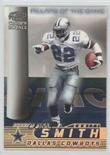 1998 Pacific Crown Royale Pillars of the Game 4 Emmitt Smith Dallas Cowboys Card