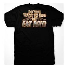 Do You Want To Ride My Fat Boy? Asst. Colors  Biker Motorcycle T-Shirt SM To 5XL