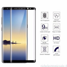 2PCS 3D Full Cover Screen Protector Film Tempered Glass For Samsung Galaxy Note8
