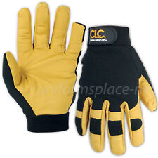 CLC Work Gloves Mens Winter HyBrid Insulated, Goatskin Work Gloves #2061
