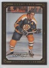 2008-09 Upper Deck Masterpieces Brown Framed 83 Phil Esposito Boston Bruins Card