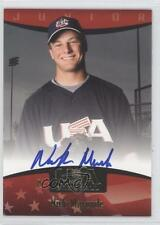 2008 Upper Deck 2007 USA Baseball National Teams #91 Nick Maronde Auto Card