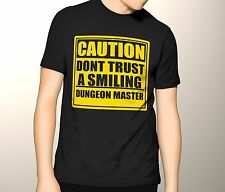 Dungeons and Dragons Shirt, DND shirt, Don't Trust a Smiling Dungeon Master