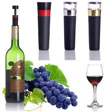 Air Pump Sealer Plug Preserver Saver Champagne Wine Bottle Vacuum Sealed Stopper
