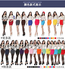 Sexy Women Mini Skirt Pleated Seamless Stretch Tight Slim Candy Pencil Dress