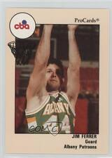 1989-90 ProCards CBA 106 Jim Ferrer Albany Patroons (CBA) Rookie Basketball Card