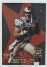 1999 Topps Stars Two Star #15 Jerry Rice San Francisco 49ers Football Card