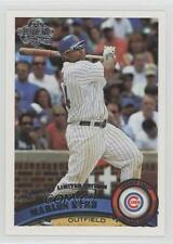 2011 Topps Factory Set Diamond Anniversary #154 Marlon Byrd Chicago Cubs Card
