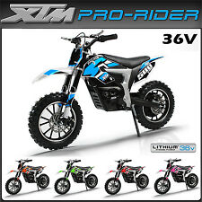 Xtreme XTM PRO-RIDER 36V Electric Dirt Bike - Childs Kids Ride on Motorbike 2017