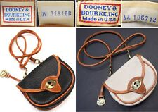 DOONEY & BOURKE VINTAGE ALL WEATHER LEATHER® CAVALRY CROSSBODY BELT KEYHOLE BAG