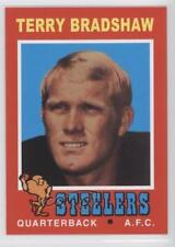 2012 Topps Quarterback Rookie Reprints #156 Terry Bradshaw Pittsburgh Steelers