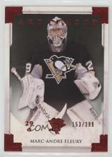 2013-14 Upper Deck Artifacts Ruby 117 Marc-Andre Fleury Pittsburgh Penguins Card