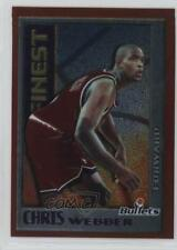1995-96 Topps Finest Mystery Bordered #M8 Chris Webber Washington Bullets Card