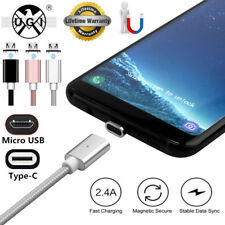 UGI 2.4A Micro USB Type-C Charging Cable 1M Magnetic Adapter For Samsung Android