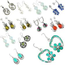Factory direct  925 sterling silver dangle earrings jewelry by jewelexi 4993B