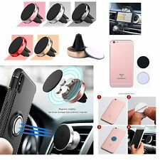 Car Magnetic Air Vent Mount Holder For iPhone Samsung HTC Sony Xperia Huawei