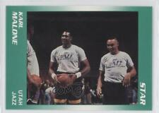 1990-91 Star #11 Karl Malone Utah Jazz Basketball Card