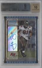 2005 Bowman Chrome 237 Alex Smith BGS 9 Tampa Bay Buccaneers Auto RC Rookie Card